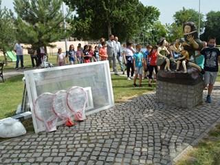 Opremljen školski teren u Novim Karlovcima
