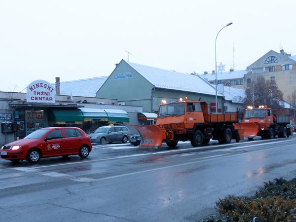 """Zimska služba """"Komunalca"""" spremna za zimsku sezonu korisno zimska sluzba"""