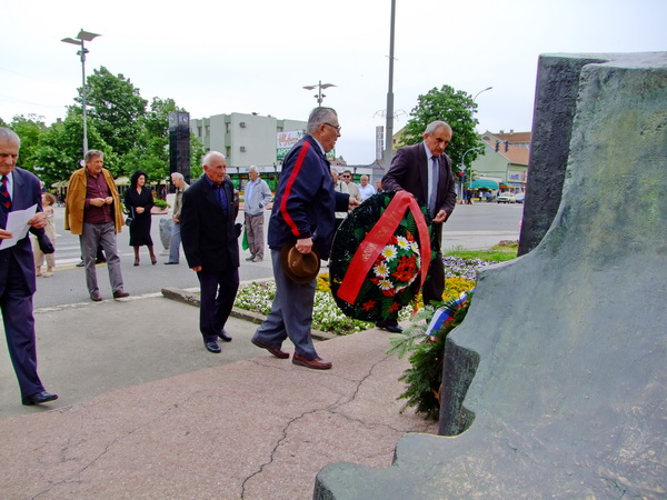 The municipality of Indjija marked 70 years since the victory over fascism and the end of World War II