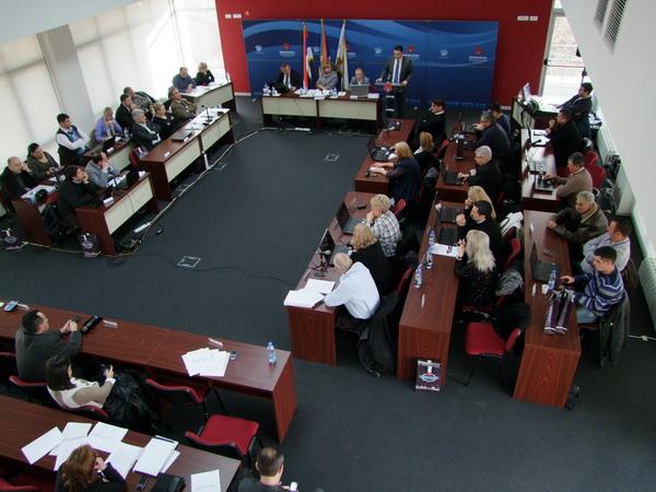 Sednica Skupštine opštine Inđija u petak 19. septembra sodecembar