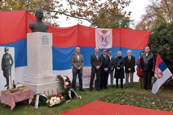 Obeležen Dan oslobođenja Inđije u I svetskom ratu Dan oslobodjenja Indjije Prvi svetski rat 2014 1