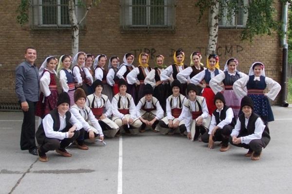 """Srebrna medalja za KUD """"Soko"""" KUD Soko festival Backa Topola 2014"""