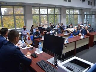 Израелски национални одбрамбени колеџ у посети Инђији