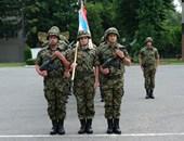 Gaku plaketa za saradnju sa jedinicom VOJIN Vojske Srbije