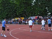 Basketball field in Inđija