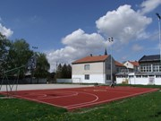 Basketball field in Novi Slankamen